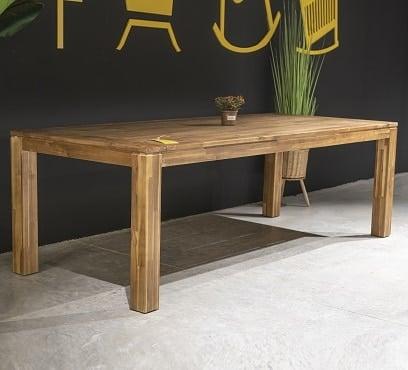 שולחן עץ דגם גלנווד