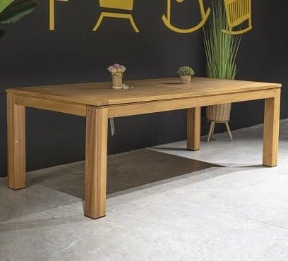 שולחן עץ נפתח דגם ווילסון
