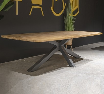 שולחן עץ מעוצב דגם זאוס