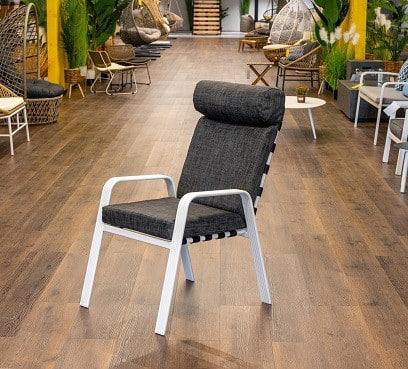 כיסא אלומיניום טיטאן