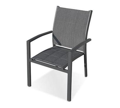 כיסא אלומיניום מונאקו