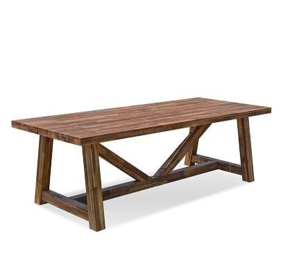 שולחן עץ דגם ויקטוריה