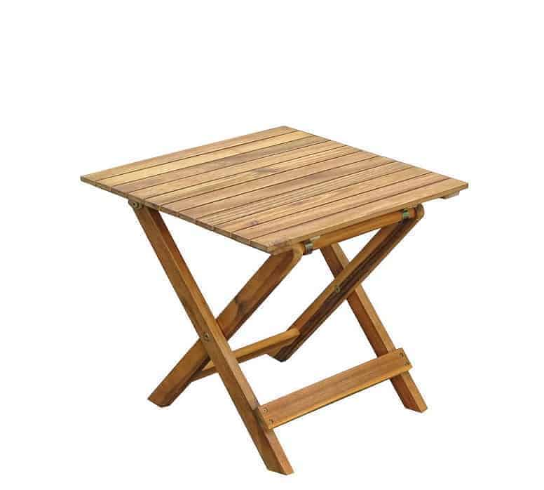שולחן צד מתקפל