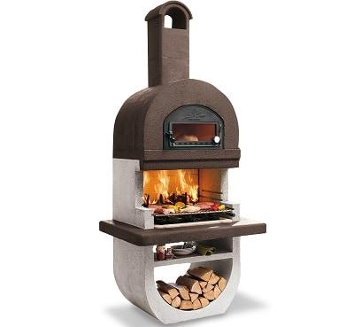 תנור גינה משולב דגם DIVA