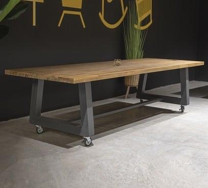 שולחן עץ מעוצב דגם קנטו 300
