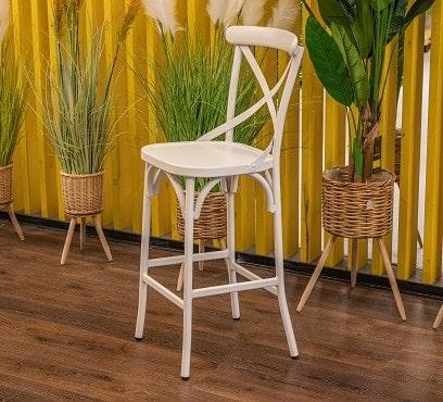 כיסא בר אלומיניום דגם זואי