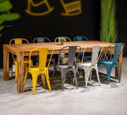 שולחן גלנווד 240 בשילוב 8 אורבן