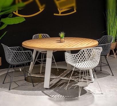 שולחן מרסיי בשילוב 4 בלובל