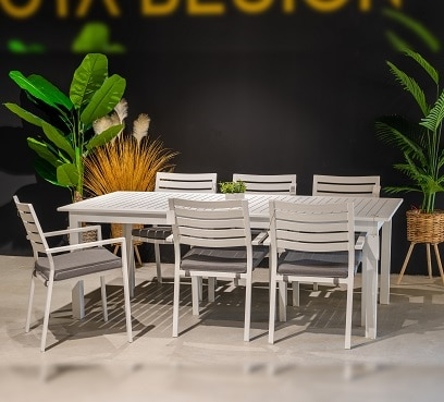 שולחן אוליבר נפתח בשילוב 6 קומט